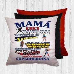 COJÍN MAMÁ SUPERHEROÍNA