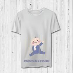 CAMISETA GRACIOSA EMBARAZADA